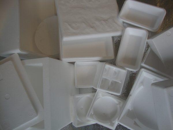 contenitori polistirolo gelato